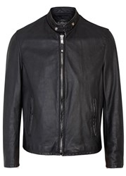 Schott Nyc Black Leather Jacket