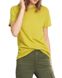Vince Pima Cotton Swing Tee Cactus
