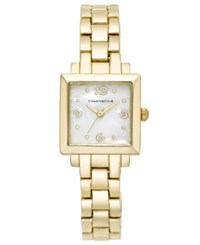 Charter Club Women's Gold Tone Bracelet Watch 23Mm 17372 Only At Macy's