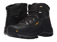 Keen Utility Leavenworth 6 Met Black Men's Work Lace Up Boots
