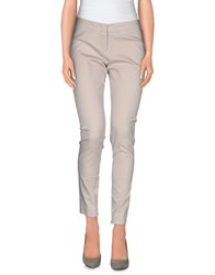 Trou Aux Biches Trousers Casual Trousers Women Light Grey