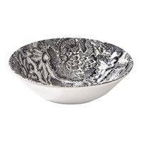 Ralph Lauren Home Faded Peony Cereal Bowl Black