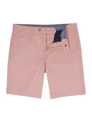 Linea Men's Chiltern Chino Shorts Washed Pink