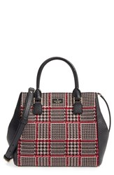 Kate Spade New York Prospect Place Maddie Houndstooth Satchel