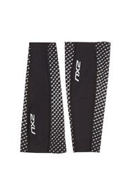 2Xu Reflective Compression Calf Guards Black Multi