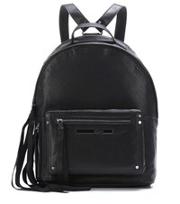 Mcq By Alexander Mcqueen Classic Leather Backpack Black