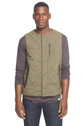 Men's White Mountaineering Quilted Vest