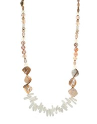 Lonna And Lilly Glass Shell Natural Necklace