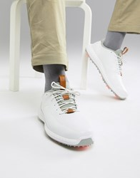 Puma Golf Power Adapt Leather Shoes In White