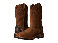 Dan Post Blayde St Saddle Tan Cowboy Boots Brown