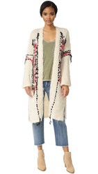 Free People Geneva Cardigan Cream