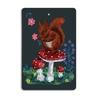 Avenida Home Nathalie Lete Cutting Board Squirrel