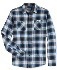 American Rag Men's Theo Plaid Flannel Shirt Only At Macy's Dusty Seas