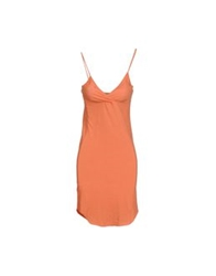Gold Case Sogno Short Dresses Salmon Pink