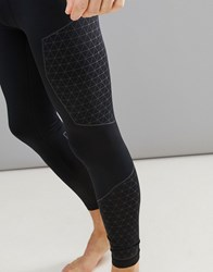 Your Turn Yourturn Active Running Tights In Black