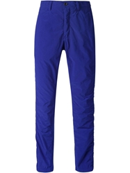Attachment Straight Fit Trousers Blue