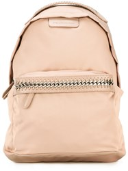 Stella Mccartney Falabella Go Backpack Nude Neutrals
