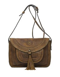 Patricia Nash Beaumont Suede Crossbody Bag
