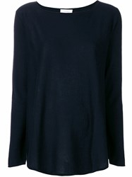 Snobby Sheep Long Sleeve Knitted Top Blue