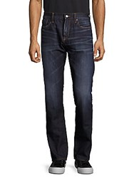 Jean Shop Slim Fit Selvedge Cotton Jeans Dark Wash