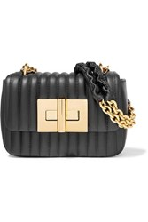 Tom Ford Natalia Mini Quilted Leather Shoulder Bag Black