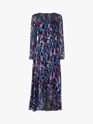 Lk Bennett L.K.Bennett Roe Dress Blue Multi