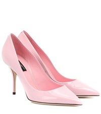 Dolce And Gabbana Patent Leather Pumps Pink