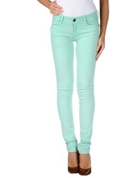 Cimarron Denim Pants Light Green