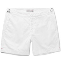 Orlebar Brown Bulldog Stretch Cotton Twill Shorts White