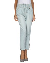 Guess Jeans Trousers Casual Trousers Women Blue
