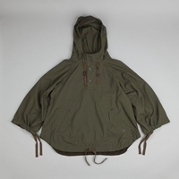 Snow Peak Fire Protect Poncho Jacket Olive Flatspot