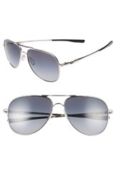 Oakley Men's Elmont 61Mm Polarized Aviator Sunglasses