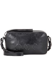 Mcq By Alexander Mcqueen Leather Crossbody Bag Black