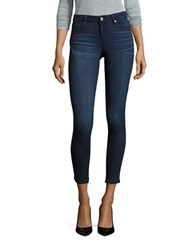William Rast Skinny Ankle Cropped Jeans Midnight