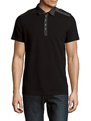Diesel Angie Cotton Polo Shirt Black