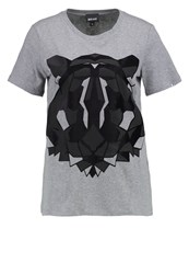Just Cavalli Print Tshirt Grey
