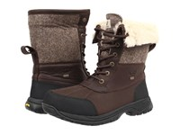 Ugg Butte Stout Leather Men's Waterproof Boots Black