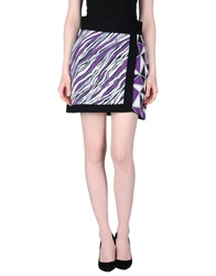 Fausto Puglisi Mini Skirts Purple