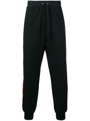 Damir Doma Side Stripe Joggers Black