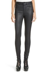 The Kooples Women's Faux Leather Skinny Jeans