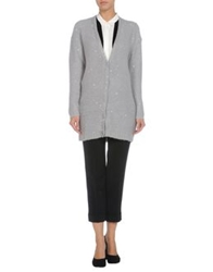 Beayukmui Cardigans Light Grey