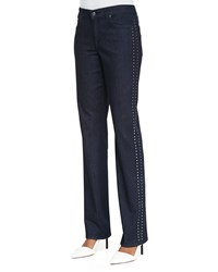 Cj By Cookie Johnson Faith Studded Straight Leg Jeans Women's