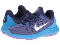 Nike Lunar Skyelux Dark Purple Dust Loyal Blue Blue Glow White Women's Shoes