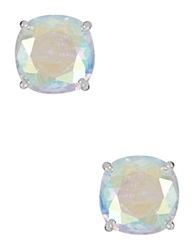 Kate Spade Rhinestone Stud Earrings Crystal Silver