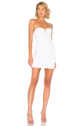 By The Way Evelyn U Ring Strapless Bodycon Dress White