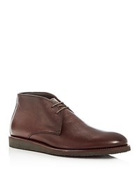 To Boot New York Men's Franklin Leather Chukka Boots Brown