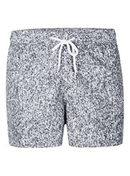 Topman Multi Grey Textured Swim Shorts