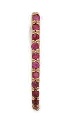 Smith Mara Red Ruby Suspender Earring