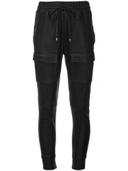 Manning Cartell Open Season Leather Trousers Black