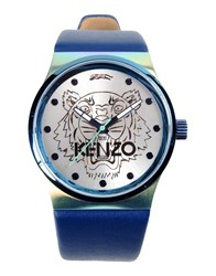Kenzo Timepieces Wrist Watches Men Dark Blue